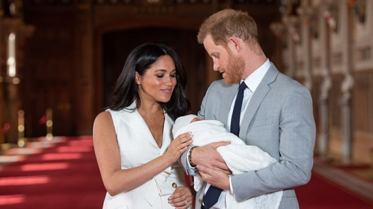 People are losing their minds over one detail from the photocall with Baby Sussex