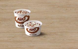 Rejoice! McDonald's are bringing back Aero McFlurrys