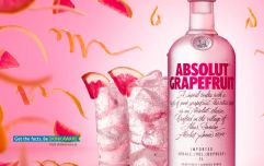 This new ABSOLUT Grapefruit Vodka is THE drink of the bank holiday weekend (it's sin-free too!)