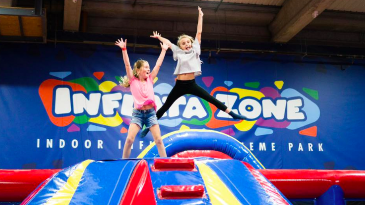 Win 10 passes to Ireland's first Inflatable Theme Park - the all-new Inflata Zone!