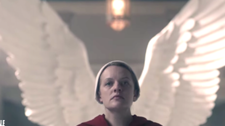 The explosive new trailer for season three of The Handmaid's Tale is here