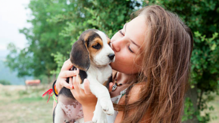 Bad news klaxon! Kissing your pet on the mouth could be damaging your health