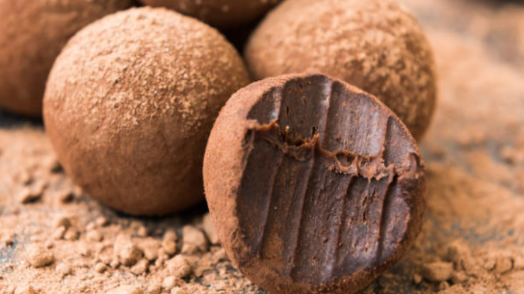 Here's a recipe for delish chocolate truffles if you want to treat yourself this weekend