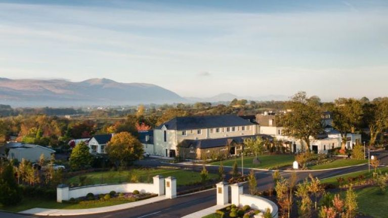 If you want a relaxing weekend break, this Irish hotel and spa is simply stunning