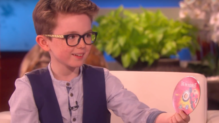 Young boy from Kildare steals the show on Ellen with impressive magic skills