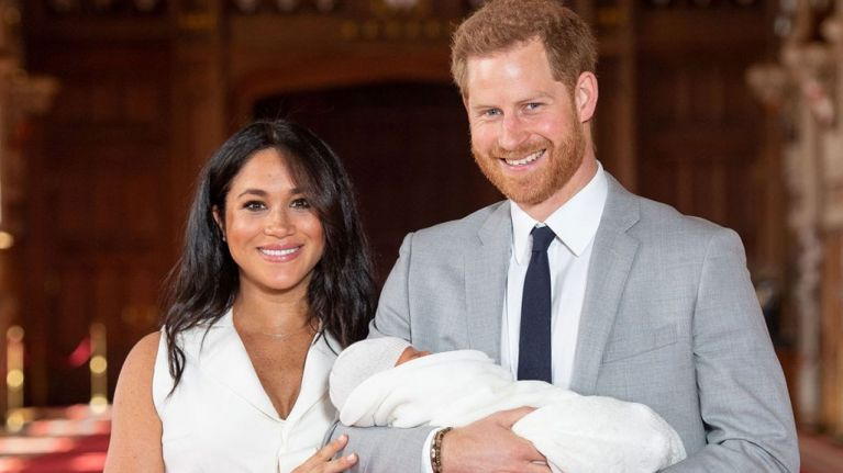 Our hearts are MELTING at what Prince Harry just said about his new son