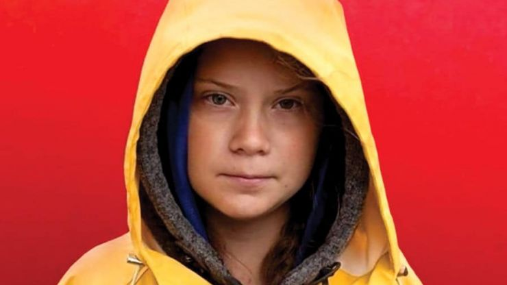 Teen climate activist Greta Thunberg features on the cover of TIME magazine