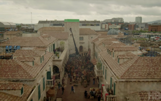 Game of Thrones built the whole set of King's Landing in Belfast for this season