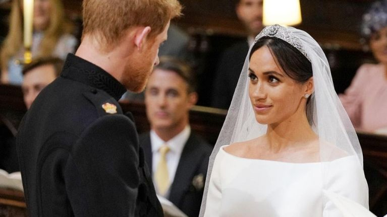 Aw! Meghan and Harry just shared never-before-seen photos from their wedding