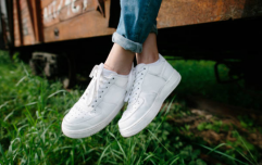 This simple hack for cleaning dirty white shoes has made our lives SO much easier
