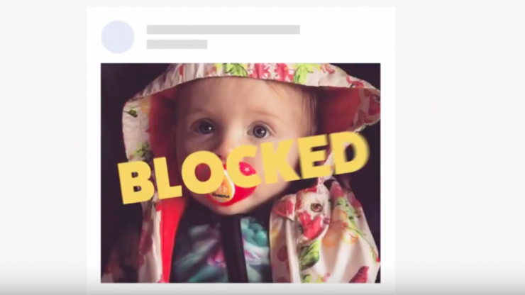 Condom company launches 'baby blocker' app that lets you hide baby photos from social media