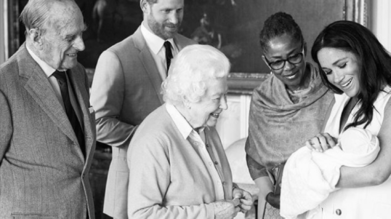 The clever reason why Prince Harry and Meghan Markle turned this image black and white