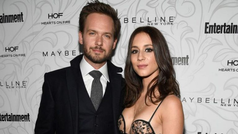 Patrick J Adams shares a gushing Instagram post about Troian Bellisario being a mum