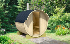 Amazon is selling a build-your-own sauna for your back garden that comfortably sits four people