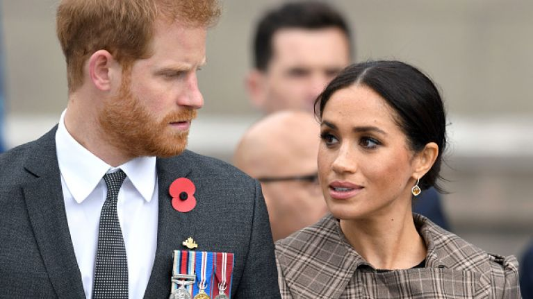 Fans were left confused by Prince Harry and Meghan Markle's home after visiting Frogmore Estate yesterday