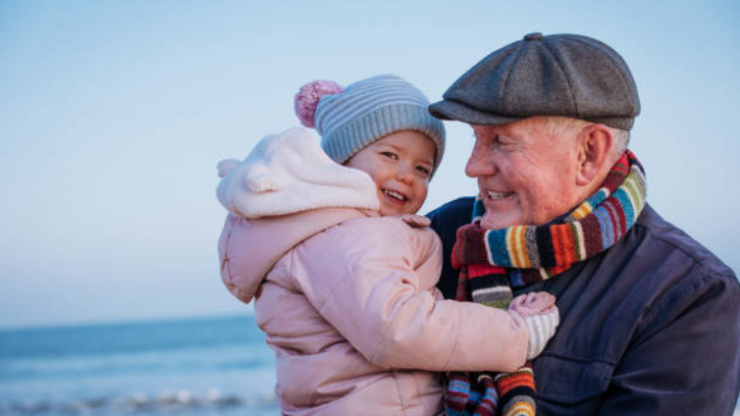 Study says raising children near their grandparents has a great benefit