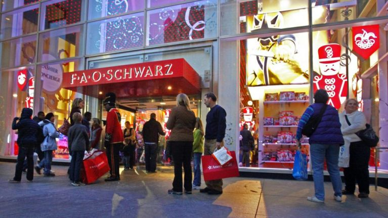 Famous New York toy store, FAO Schwarz, will open in Ireland this year