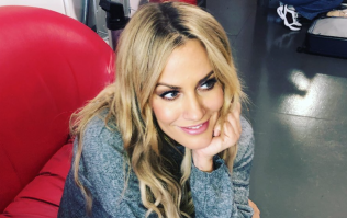 Caroline Flack wore the most stunning €68 Topshop heels on telly last night