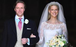 Lady Gabriella Windsor's second wedding dress was breathtakingly beautiful