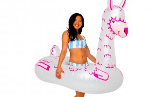Forget flamingos... giant LLAMA pool floats are here and they're what we need