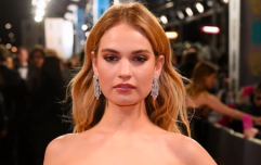 Lily James now sports a blunt bob and I want to cut my hair immediately