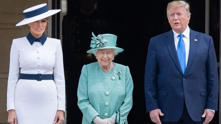 Apparently, Donald Trump broke massive royal protocol last night