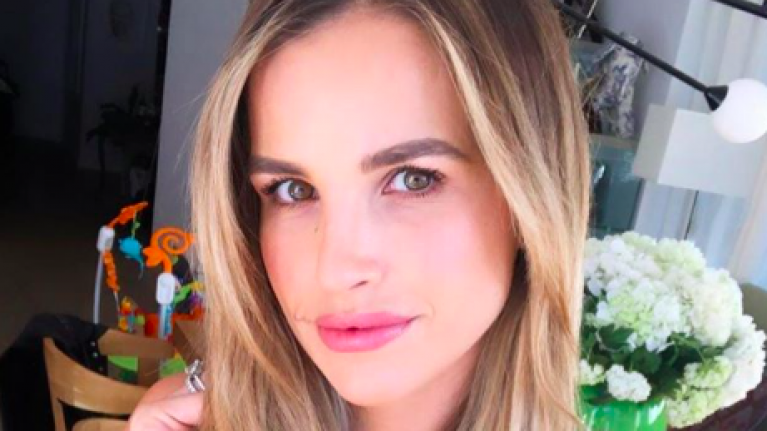 Vogue Williams looked like a vision in this head-to-toe outfit from Next