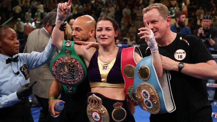 'Just go for it' Katie Taylor gives inspirational advice to young female athletes