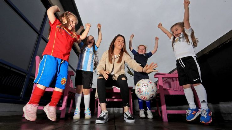"""""""This tournament is not just for sporty types."""" Ireland star calls for ALL women to get behind the Women's World Cup"""