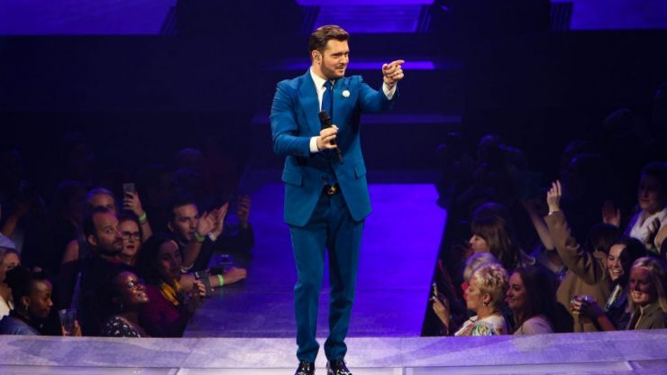 Love songs and Love Island jokes: Michael Bublé charms Dublin's 3 Arena