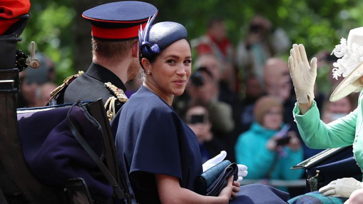 Meghan Markle wears Givenchy on her first royal outing since giving birth to Archie