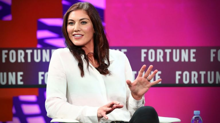 Hope Solo: 'I think it's sexist and I take great offence to that'