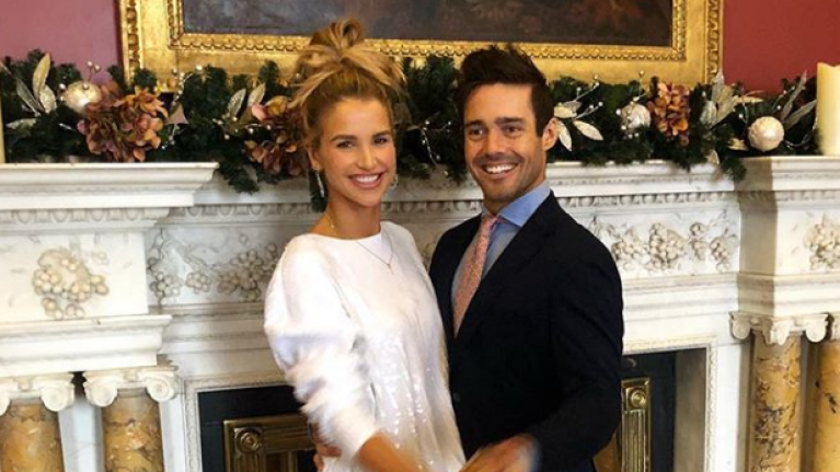 Vogue Williams shares gorgeous wedding picture to celebrate her first anniversary