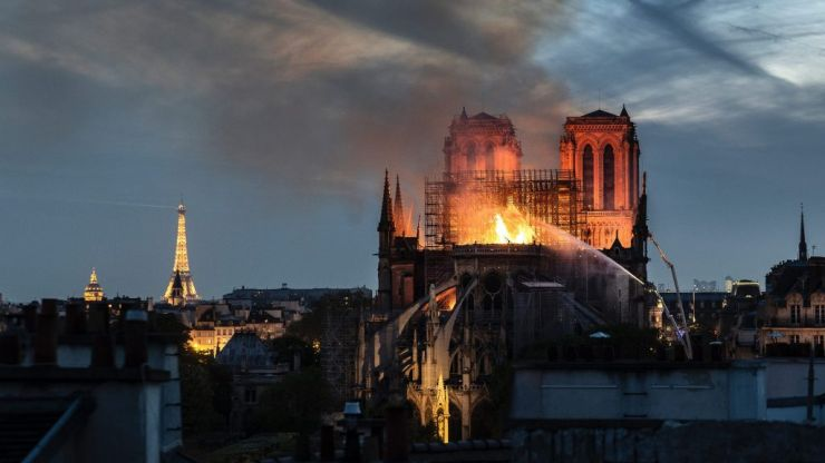 Billionaires who pledged to help rebuild Notre Dame haven't paid a penny, say church officials