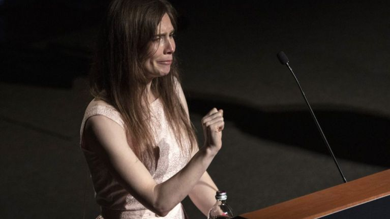 'I am not a monster' Amanda Knox returns to Italy for first time since wrongful murder conviction