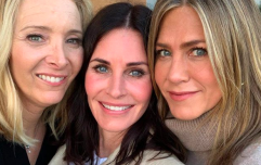 The Friends gals had a mini-reunion for Courtney Cox's birthday and our hearts