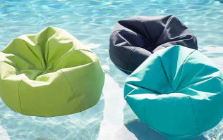 Bean bag pool floats are here to bring your summer holiday comfort to the next level