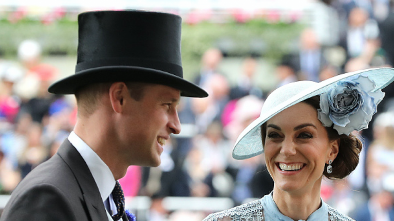 Kate Middleton's Elie Saab blue dress is race day perfection