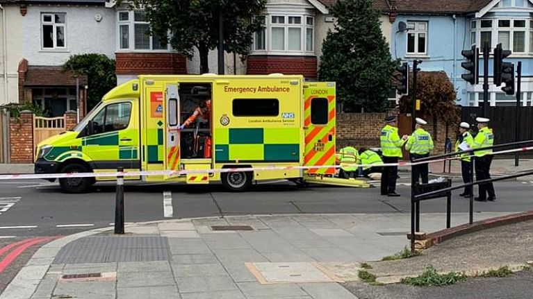 83-year-old woman in serious condition following collision with Prince William's security convoy