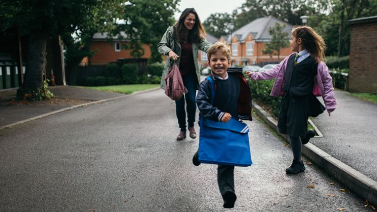 Study says getting kids ready for school is the same as an extra day of work
