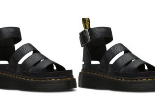 Dr. Marten has released sandals and they're our dream summer shoes