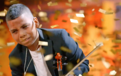 After beating cancer, incredible 11-year-old violinist gets Simon Cowell's golden buzzer
