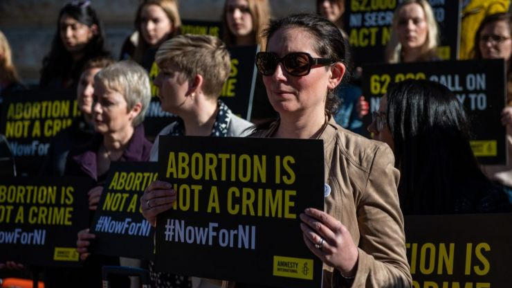 1,053 women in Northern Ireland travelled for abortions last year