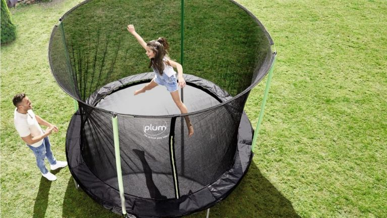 A 10ft trampoline is arriving into Aldi next week so GO, GO, GO