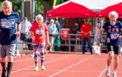 103-year-old woman sets new record for 50 metre sprint