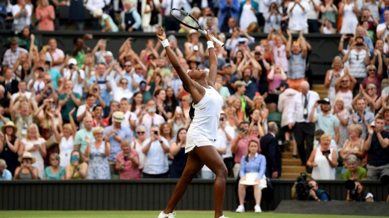 15-year-old Cori Gauff has advanced to the fourth round at Wimbledon