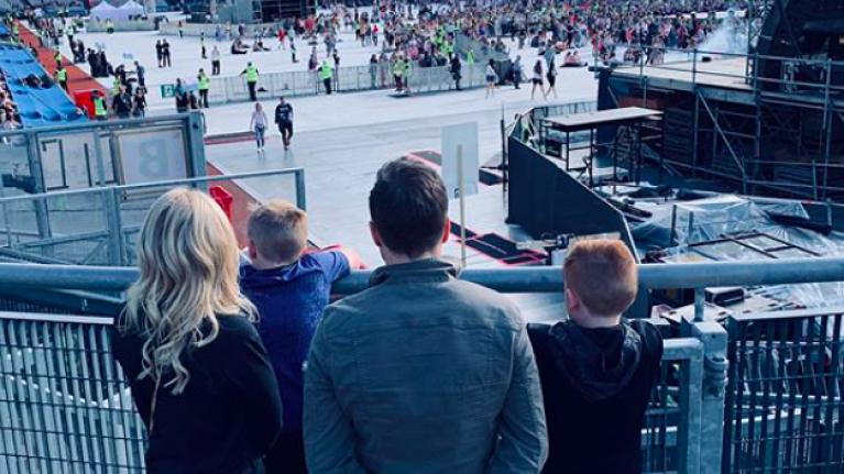 Westlife's Shane Filan shares adorable family photos as he celebrates his 40th birthday