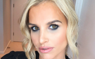 Vogue Williams wore the most incredible bridesmaid dress for her friend's wedding