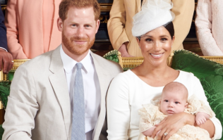 Baby Archie looks absolutely identical to dad Harry in his christening photos from 1984