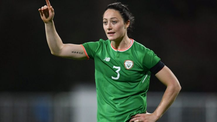 """We don't dive about as much"" - Megan Campbell on what makes women's football different"